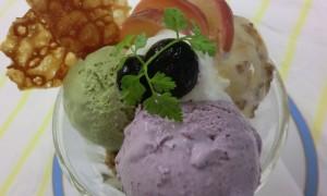 紫芋のパルフェ - コピー