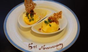 5周年記念バニラアイス