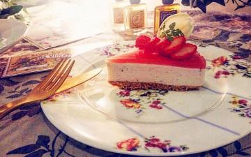 期間限定sweets「Fraises de printemps*春の苺」Octa Hotel Cafe鹿児島店