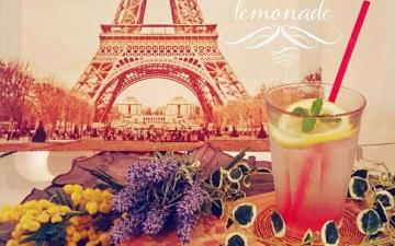 期間限定drink「Lavender Lemonade*ラベンダーレモネード」Octa Hotel Cafe鹿児島店
