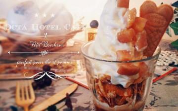 期間限定sweets「Petit bonhuer*プティ ボヌール」Octa Hotel Cafe鹿児島店