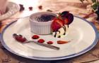 期間限定sweets「Moelleux au Chocolat*モワルー・オ・ショコラ」Octa Hotel Cafe鹿児島店