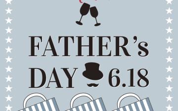 Merci FATHER's DAY!6.18 父の日に特別なグラスはいかがですか?★オクタホテル全店★